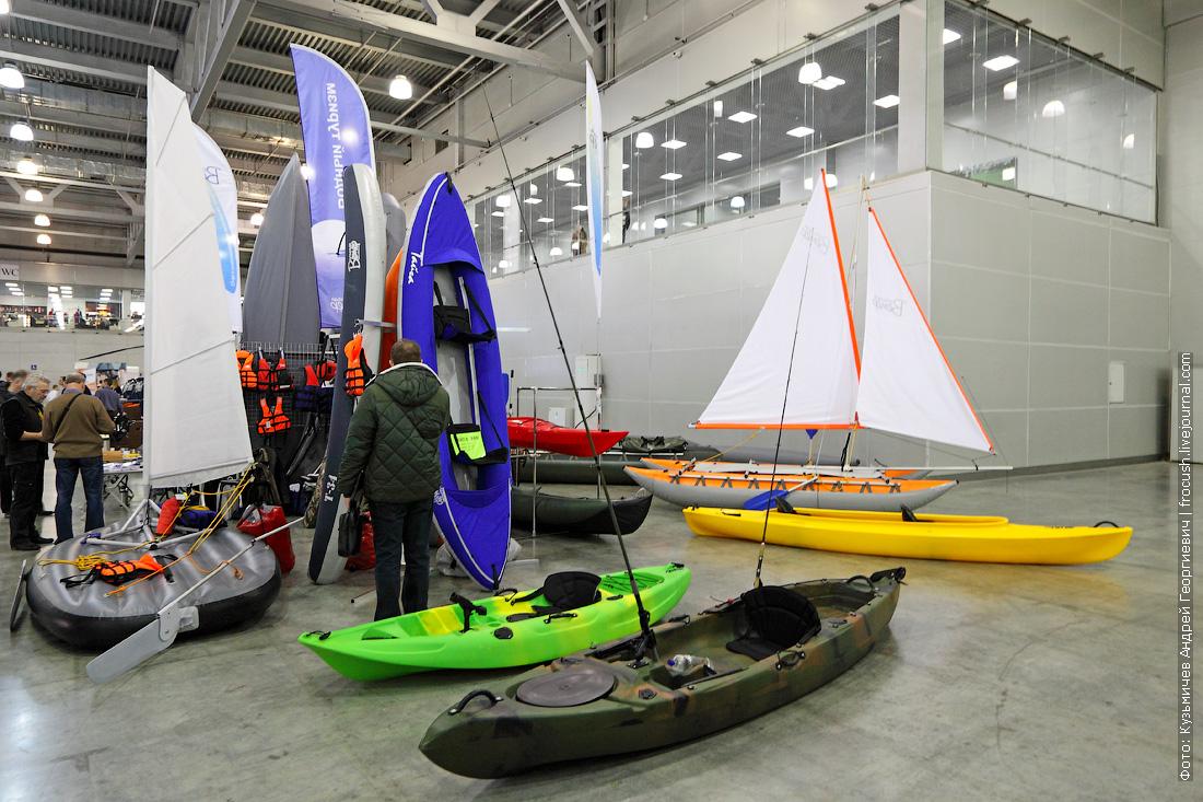 выставка катеров и яхт Москва Крокус Экспо
