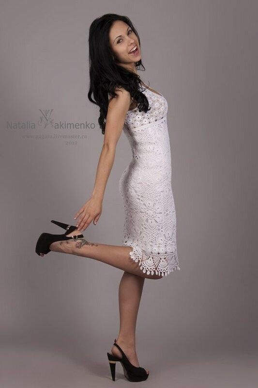 Кружевные платья от Натальи Якименко