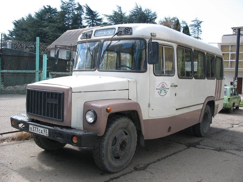 КАвЗ-3976 представлял собой сочетание специального автобусного шасси ГАЗ-33074-1010 с двигателем...