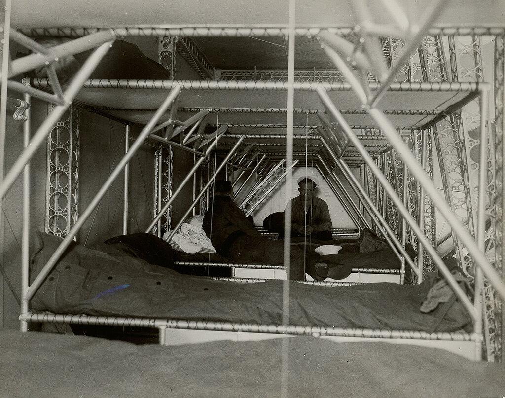 Photo showing crew bunks
