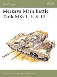 Книга Osprey - New Vanguard 021 - Merkava Main Battle Tank 1977-1996