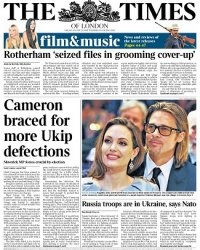 Журнал The Times - 29 august 2014