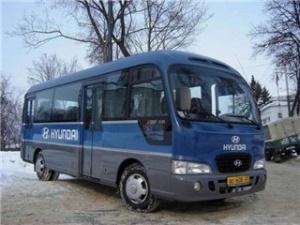Книга Руководства по ремонту автобусов Hyundai Сounty