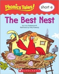 Книга Phonics Tales: The Best Nest (Short E)