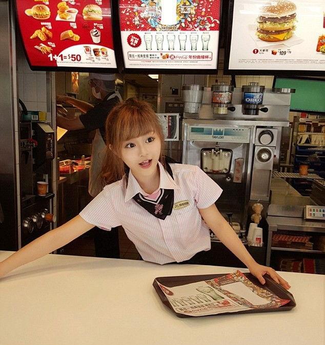 Богиня Макдоналдса из Тайваня стала звездой