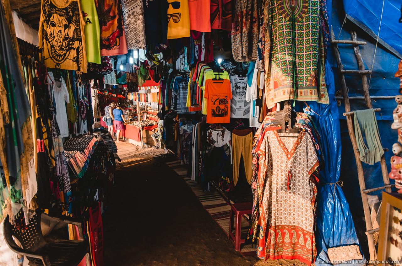 Торговые лавки в Арамболь, Гоа