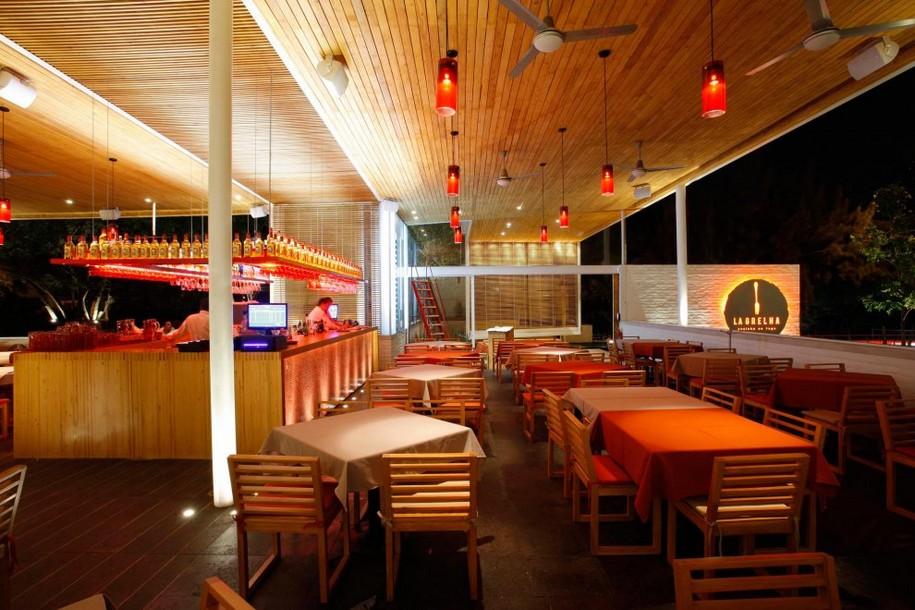Дизайн ресторана La Grelha в Гвадалахаре, Мексика