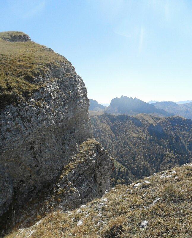 Большой Тхач, Кавказ, Адыгея, сентябрь, туризм, 2012 год