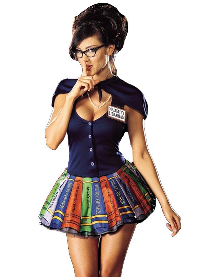 непослушная библиотекарша / naughty librarian