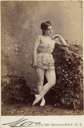 Танцовщицы конца XIX-го века