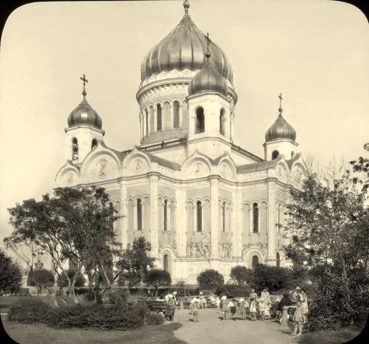 Москва. Храм Христа Спасителя