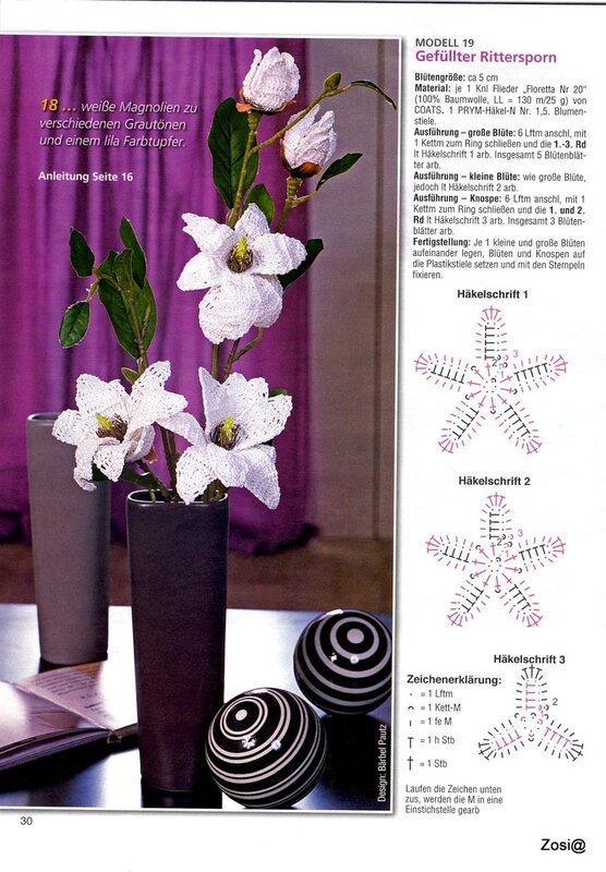 вязаные лилии крючком схемы с описанием фото хищника хамса, ставрида