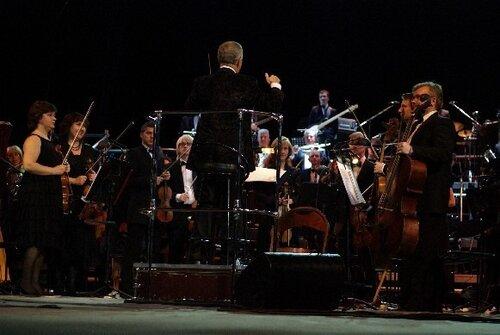 концерт Би-2 и Юлии Чичериной с симфоническим оркестром