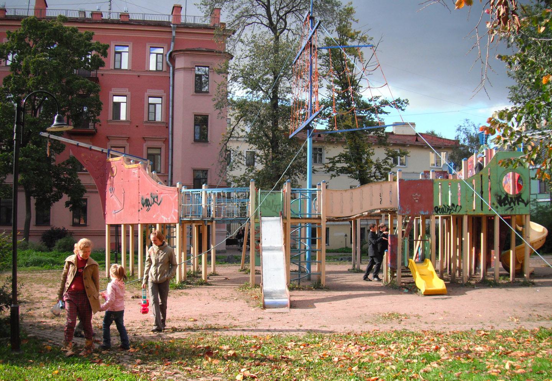 фотосъемка детской площадки. фотограф Кузьмин