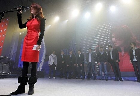 Former Russian spy in the USA Anna Chapman takes part in pro-Kremlin youth congress