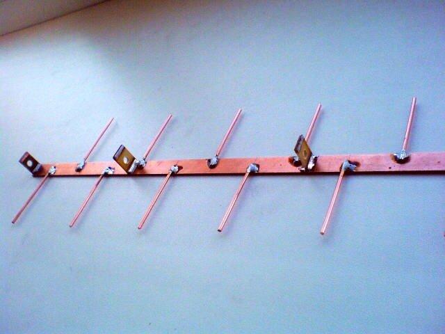 Сборка LPA антенны
