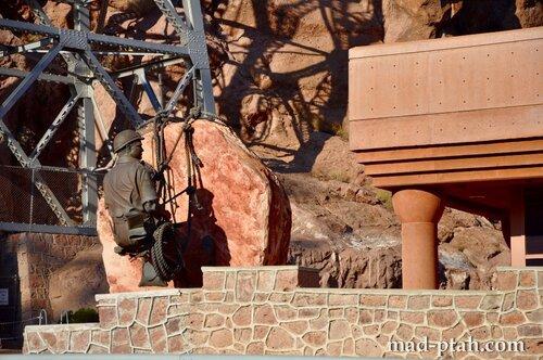 памятник строителям, дамба гувера, невада, сша