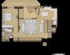 Реконструкция квартиры 79 кв.м, проект. Вар 5 Cтолетова 7 Сидеть спиной к экрану телевизора интереснее, чем лицом. Например если напротив любимые дети, или друзья и подружки, реакция на увиденное, которых вводит Вас в состояние восторга