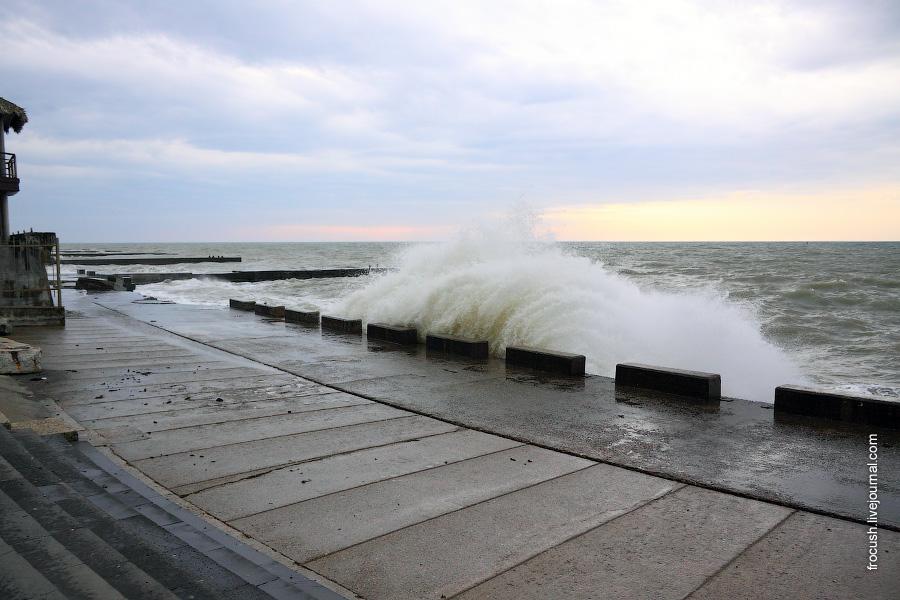 Черное море в Сочи