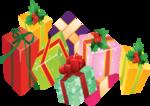 Клипарт Новогодний-Подарки,Шарики