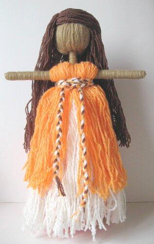 Как сделать куклу макошь