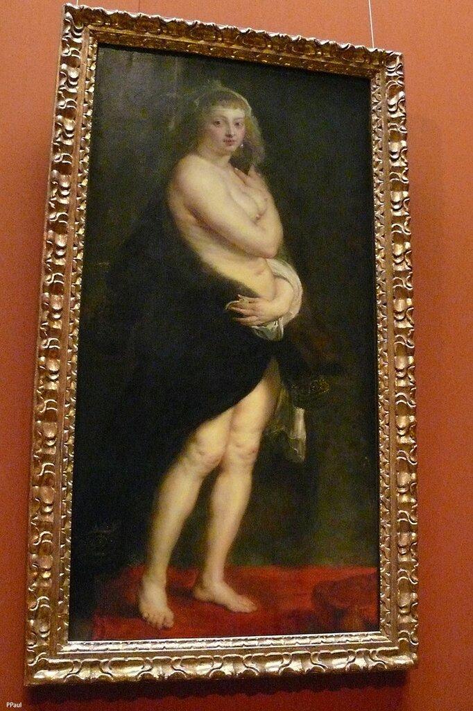 """Питер Пауль Рубенс """"Шубка"""". Ок.1635-1640 гг."""