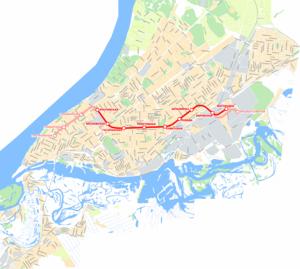 Автомобильный маршрут между городами