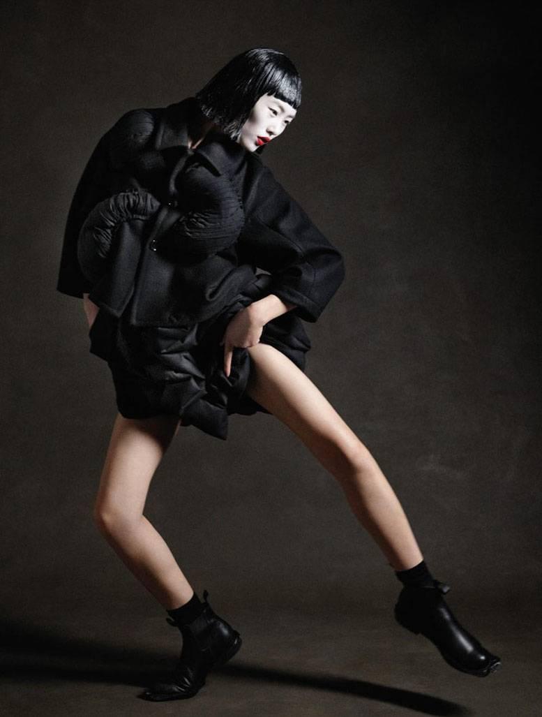 модель Liu Wen / Лю Вен, фотограф Yelena Yemchuk