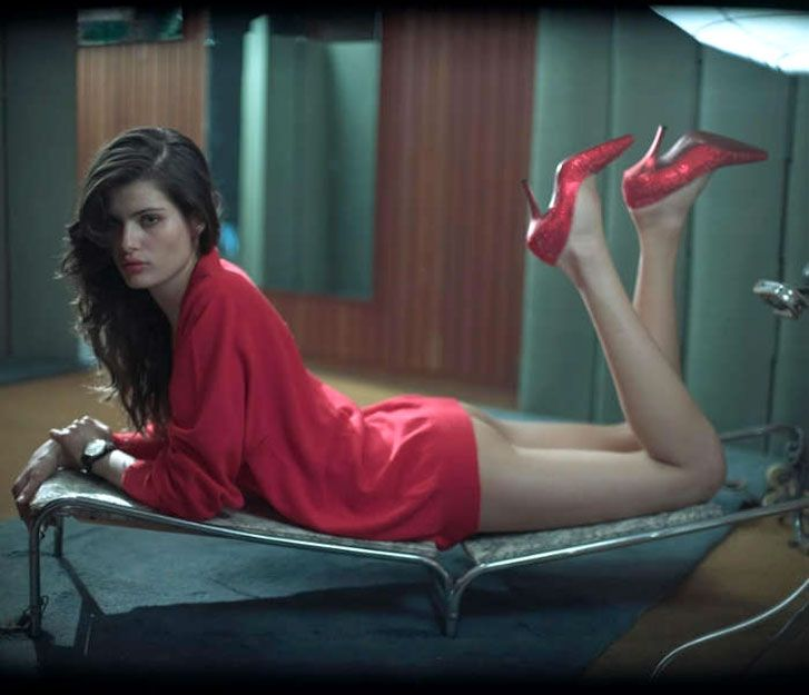 модель Изабели Фонтана / Isabeli Fontana, фотограф Glen Luchford