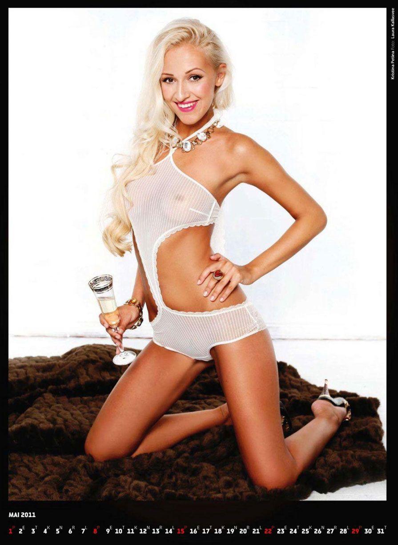 календарь журнала Playboy Estonia calendar 2011 - Kristina Petina