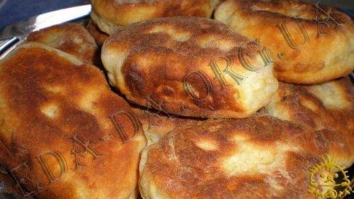Тесто на кефиры на пирожки с мясом