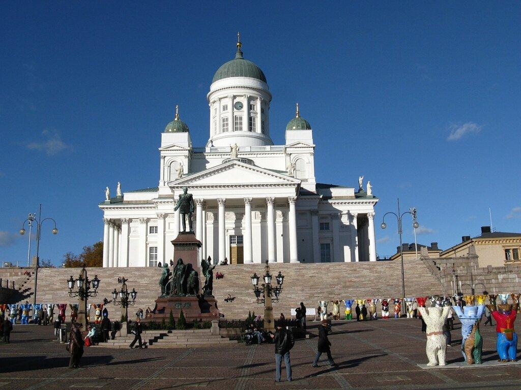Хельсинки. Сенатская площадь