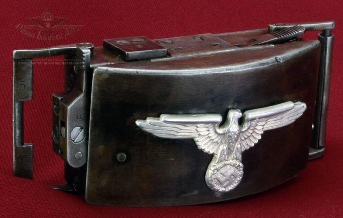 Rare German SS Belt Buckle