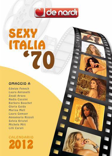 Календарь на 2012 год De Nardi - Sexy Italia 1970s
