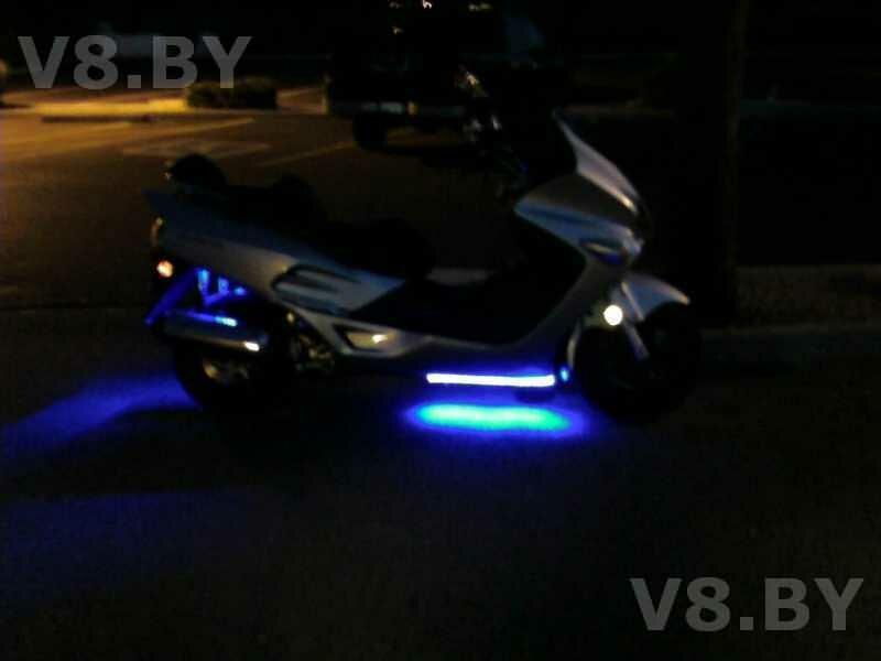 Светодиодные лампы для скутера своими руками - Mnorb.ru