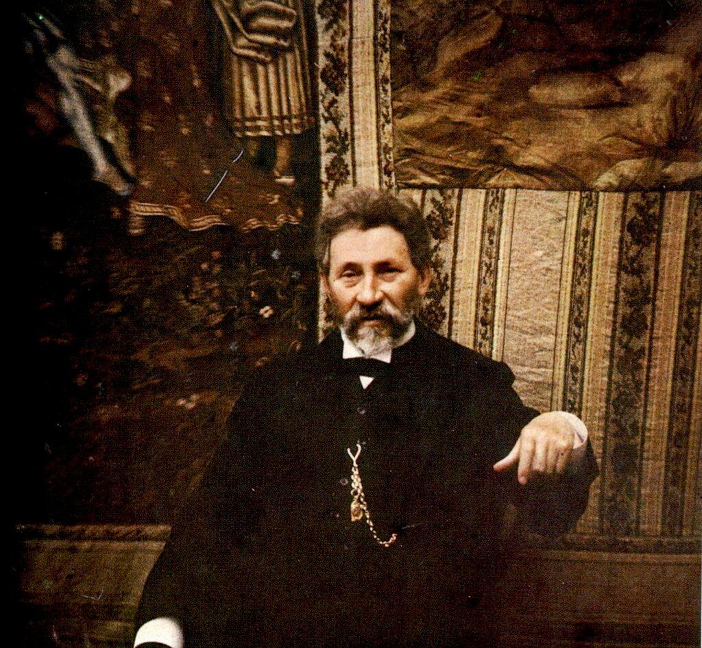 Илья Репин, май 1910. Друг семьи Андреевых.jpg