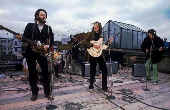 Последний концерт The Beatles, 1969 год.