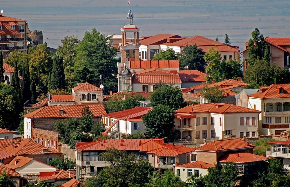 Сигнаги— «Город любви», который популярен среди желающих вступить вбрак.