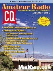 Журнал CQ Amateur Radio- August 2014