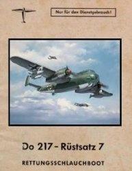 Книга Do 217 - Rüstsatz 7. Rettungsschlauchboot