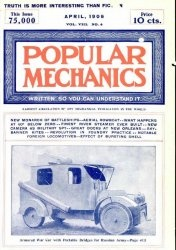 Журнал Popular mechanics №4 1906
