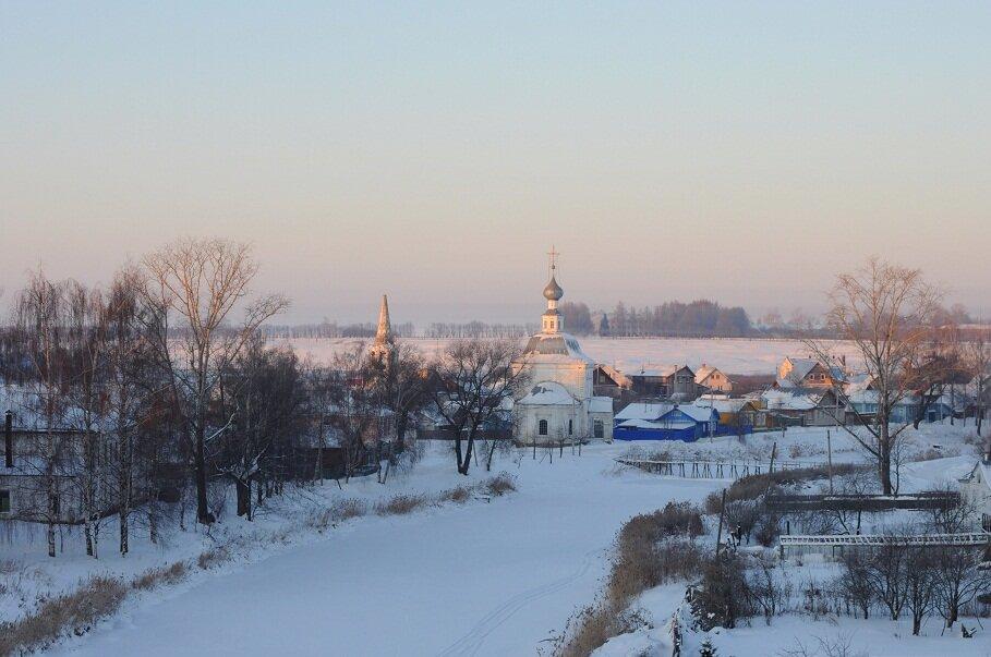 Утро на Кабацкой горе