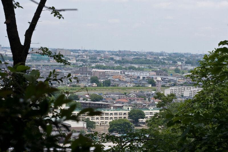 Вид на Хино с холма Такахата