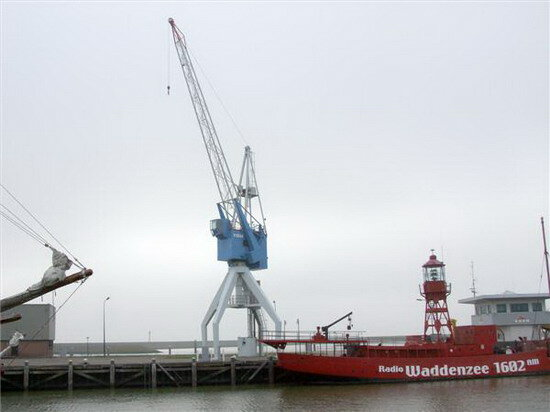 Отель De Havenkraan Van Harlingen. Нидерланды