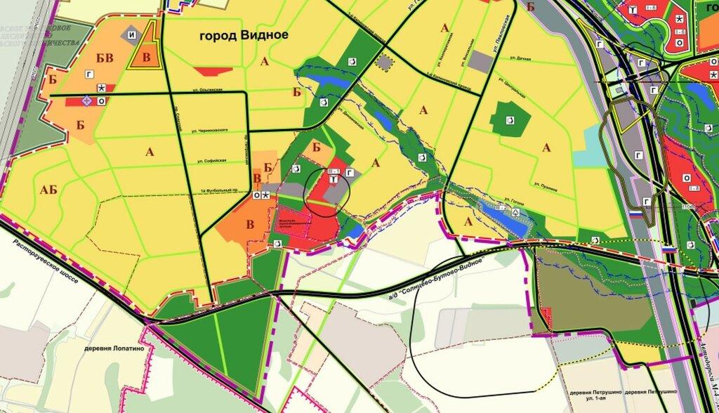 Карта города видное картинка