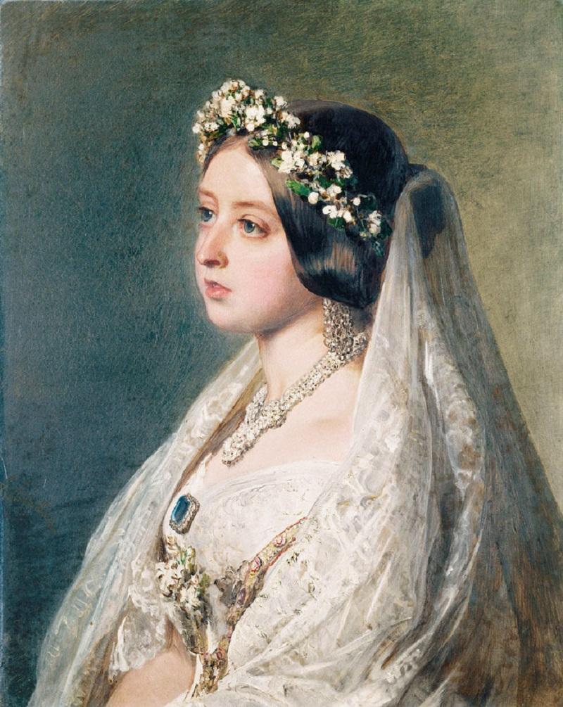 Queen Victoria (1819-1901) По заказу королевы Виктории и дал принца Альберта в подарок на годовщину свадьбы, 10 февраля 1847 г.