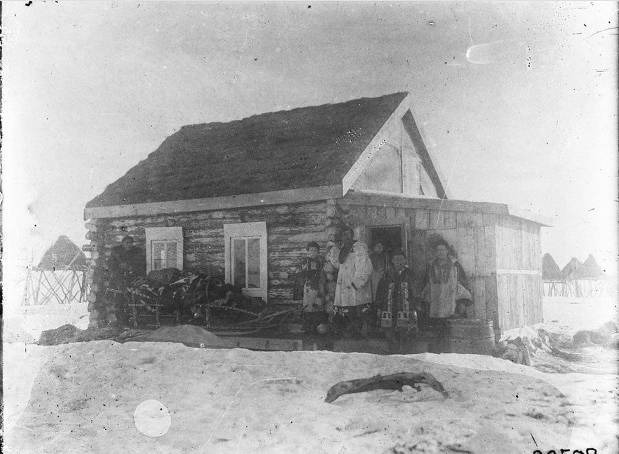Дом камчадала. 1901