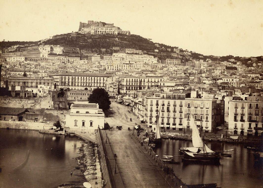 Вид на замок Святого Эльма
