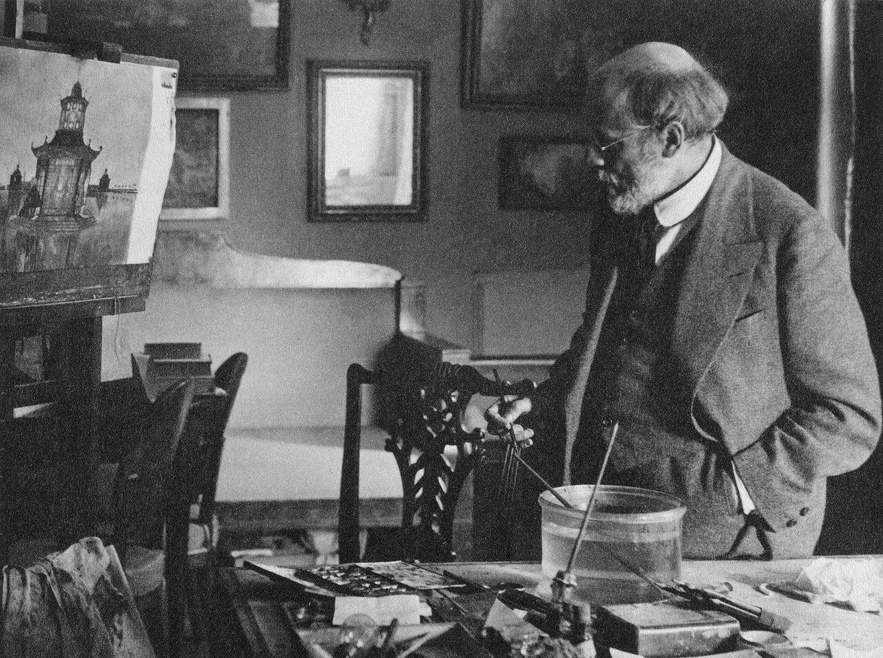Портрет Александра Николаевича Бенуа. 1921
