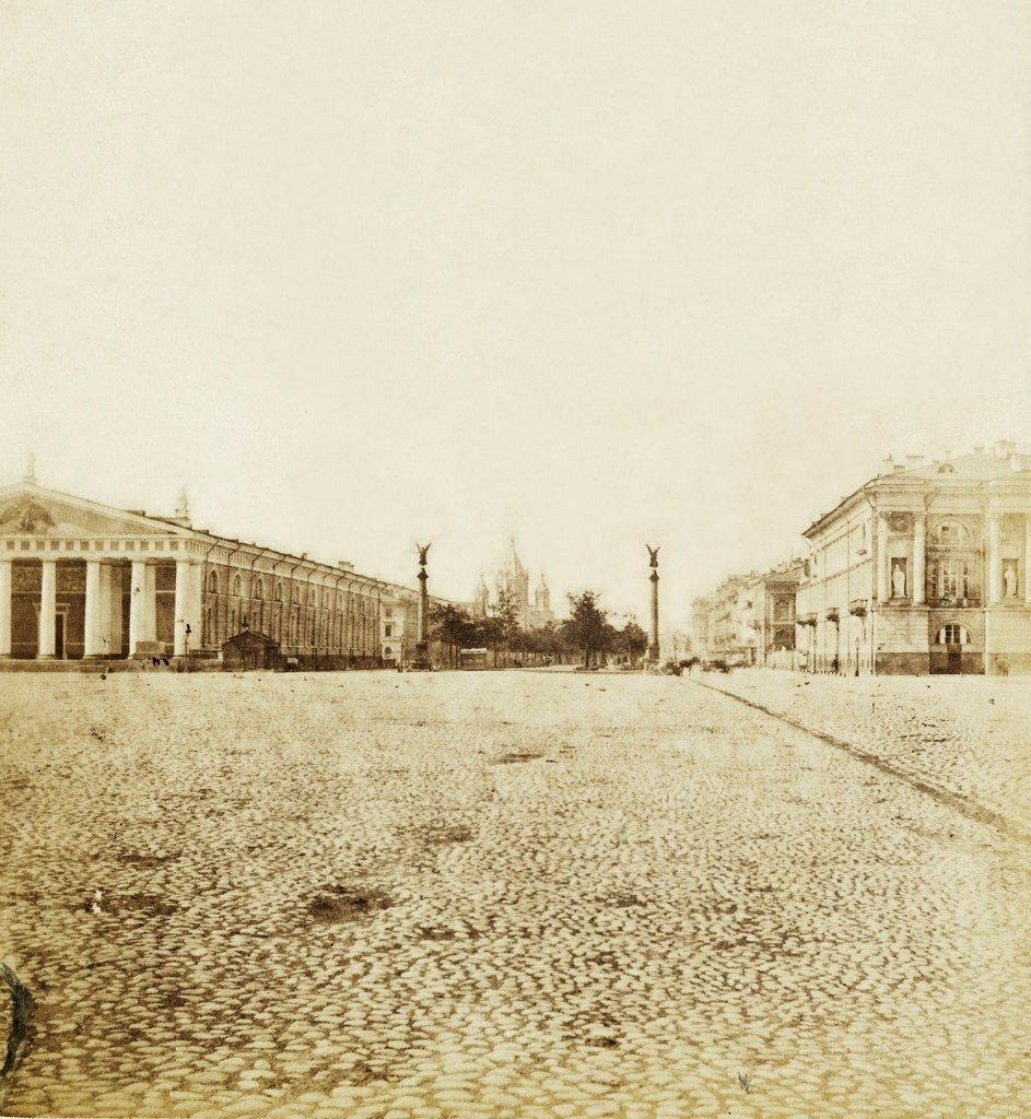1860-е.  Конногвардейский бульвар